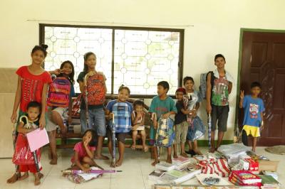 フィリピンの孤児院で住み込みボランティア