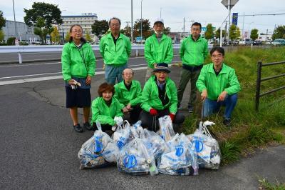 仙台市若林区の4号線バイパス清掃活動ボランティアを募集