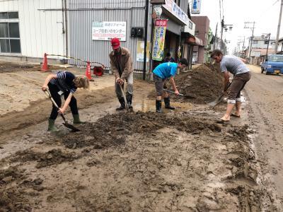 令和元年台風19号 豪雨災害被災地:宮城県丸森町復旧支援ボランティ...