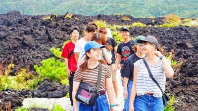 【夏休み】壊れては蘇る奇跡の島「三宅島」で村おこしボランティア!