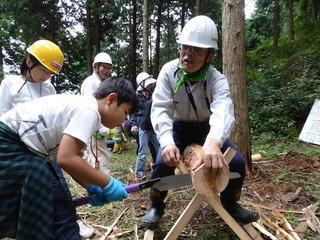 9月27日(日)【親子で皮むき間伐体験】さぬきの森 森林の楽校2020