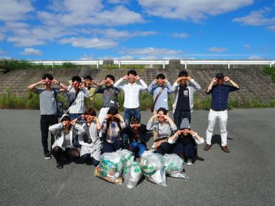 10代20代 大阪でゴミ拾いのボランティア