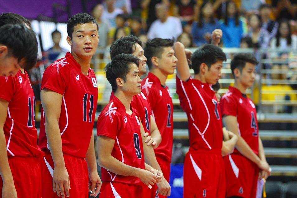 イケメン 男子 代表 バレー 日本
