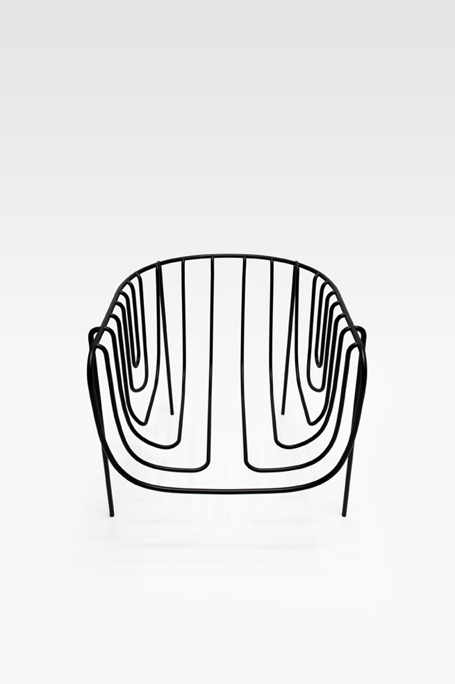 thin black lines16-chair