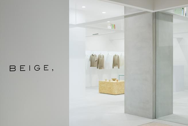 BEIGE, concept store13_takumi_ota