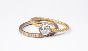 talkative Bridal Ring