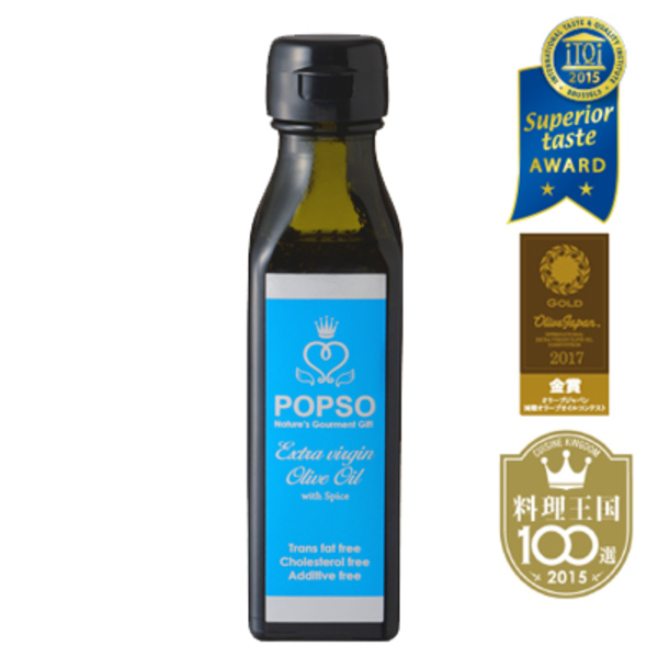 POPSO Blue(ポプソブルー)は、 iTQi(国際味覚審査機構)で優秀味覚賞を受賞しています。