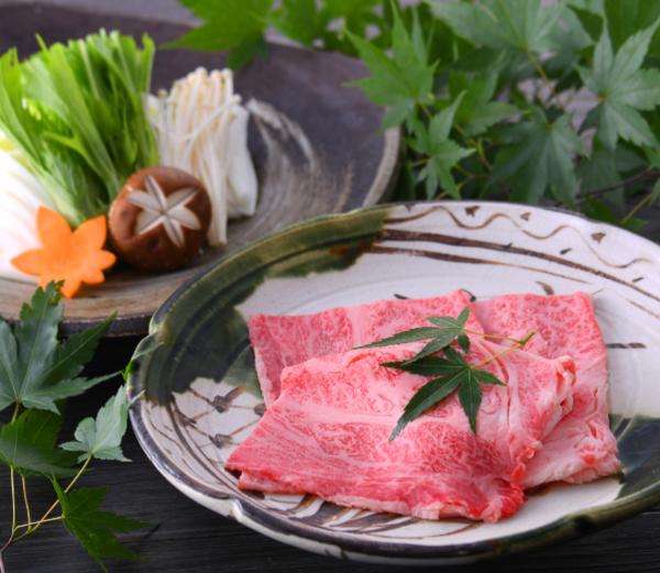 霧降高原牛のしゃぶしゃぶ<肉・野菜>