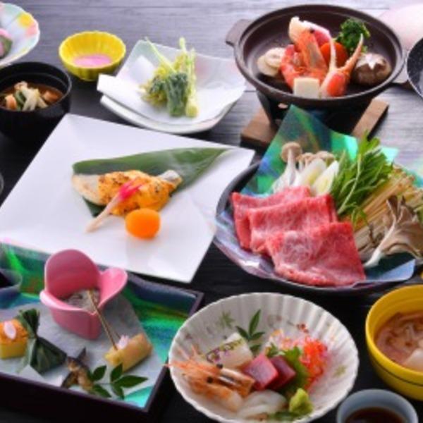 ご夕食のご案内<季節の会席料理>