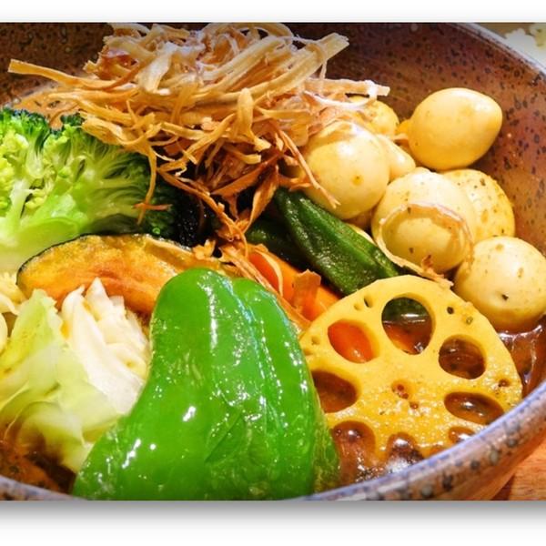近隣スープカレー屋さん❶ ピカンティ札幌駅前店