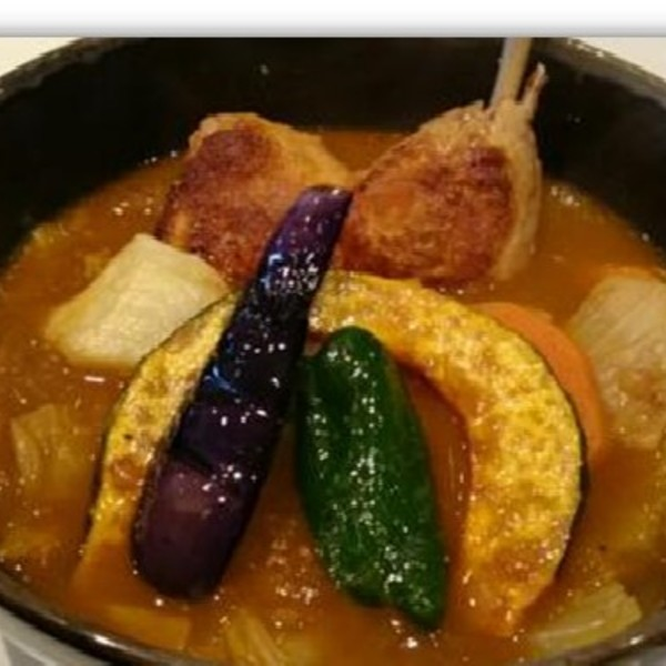 近隣スープカレー屋さん❸ すーぷかりー ひげ男爵