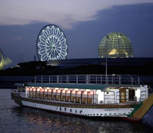 浦安乗合屋形船