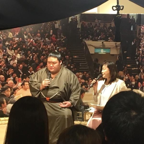2018/3/8 豪栄道関 来店!
