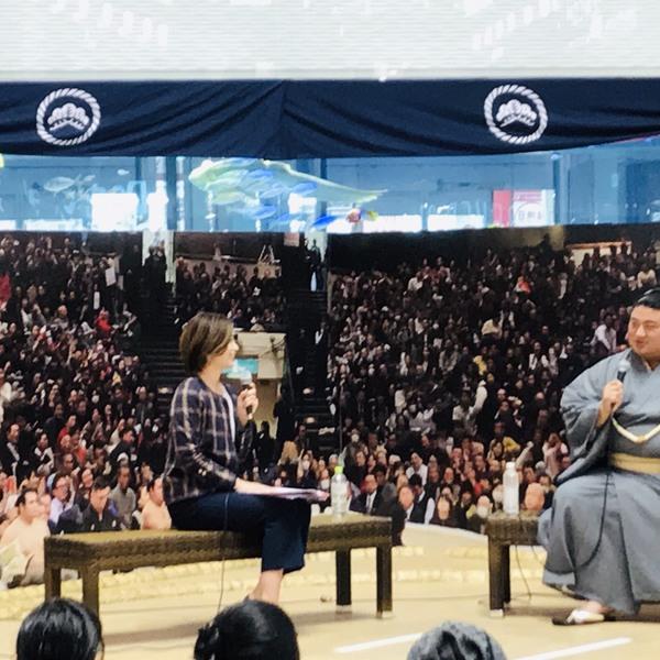 2018/10/29 嘉風関 来店!