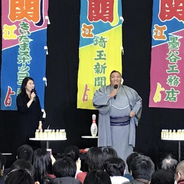 2018年12月24日 御嶽海関 来店!