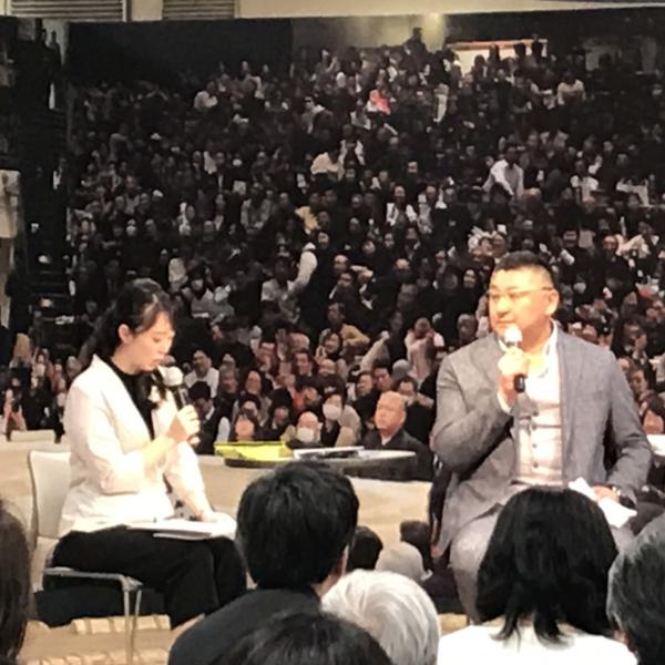 2019/4/25 伊勢ノ海親方(元北勝鬨関)来店!!