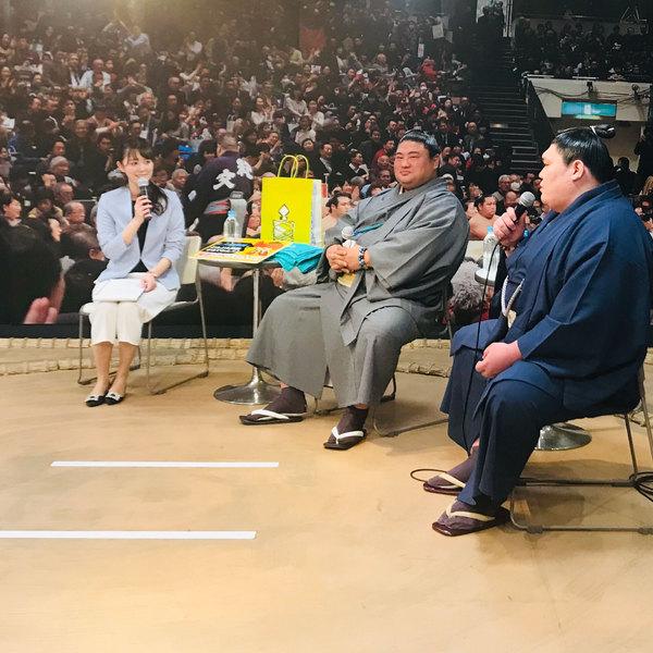 2019/4/30 嘉風関・矢後関 来店!!