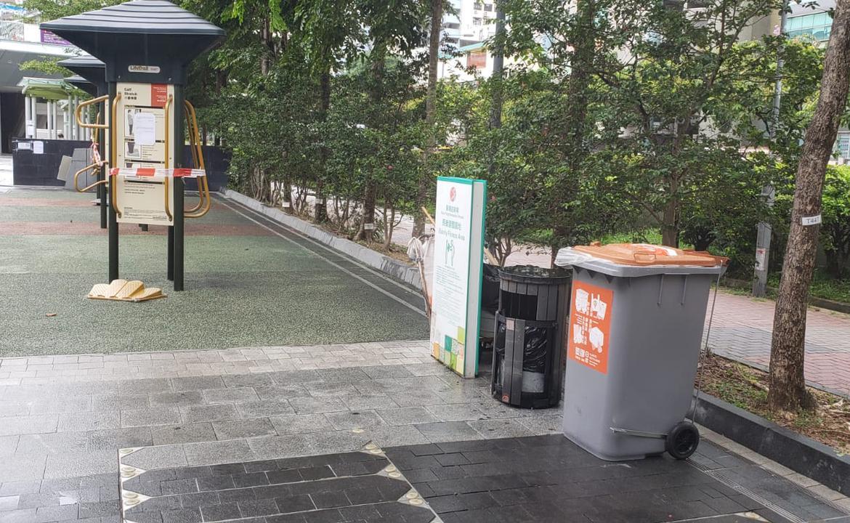 塑膠回收箱-觀塘遊樂場(長者健體園地)