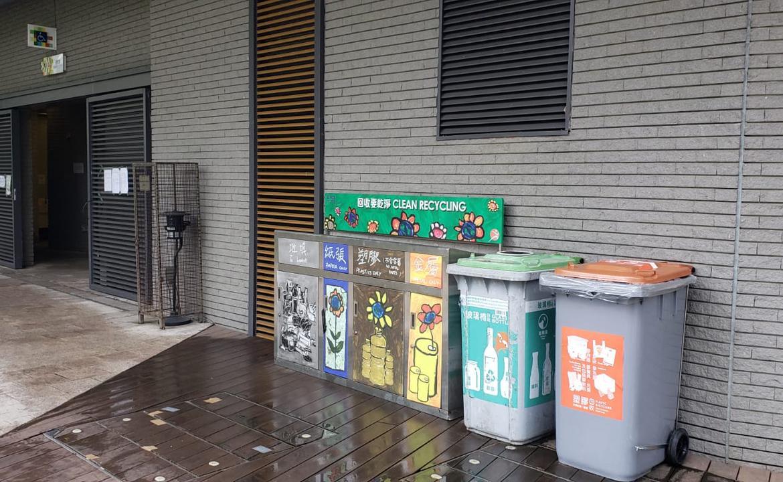 塑膠回收箱-觀塘遊樂場(男更衣室)