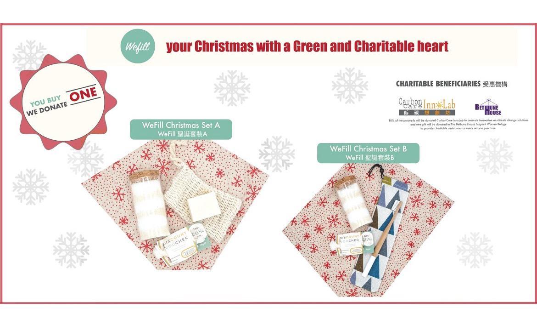 CarbonCare InnoLab x WeFill Chrismas Donation Sale