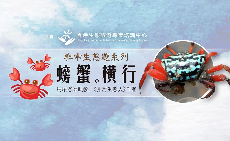 非常生態遊系列 - 螃蟹。橫行(9月限定專題,現正接受報名!)
