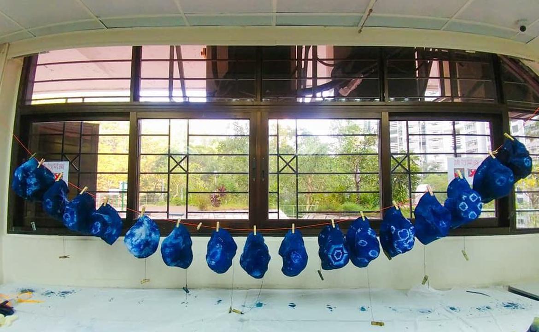 靜學堂:藍色工房(藍染)