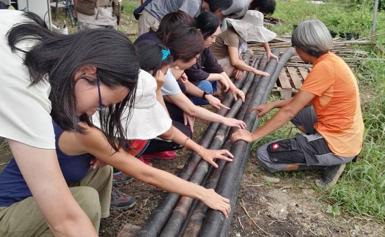 竹管泥巴屋框架手作工藝 10天工作坊