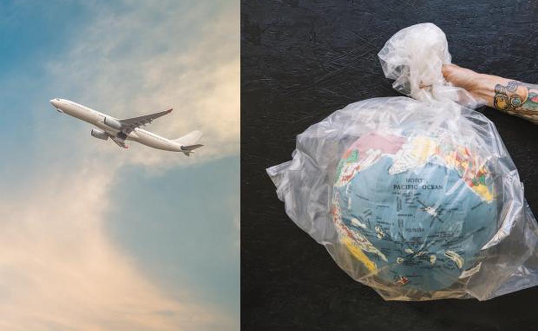 飛機垃圾減廢、回收聯署