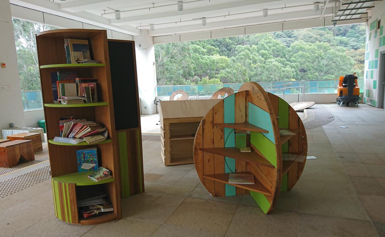 HKBU AAB 漂書閣Green Corner