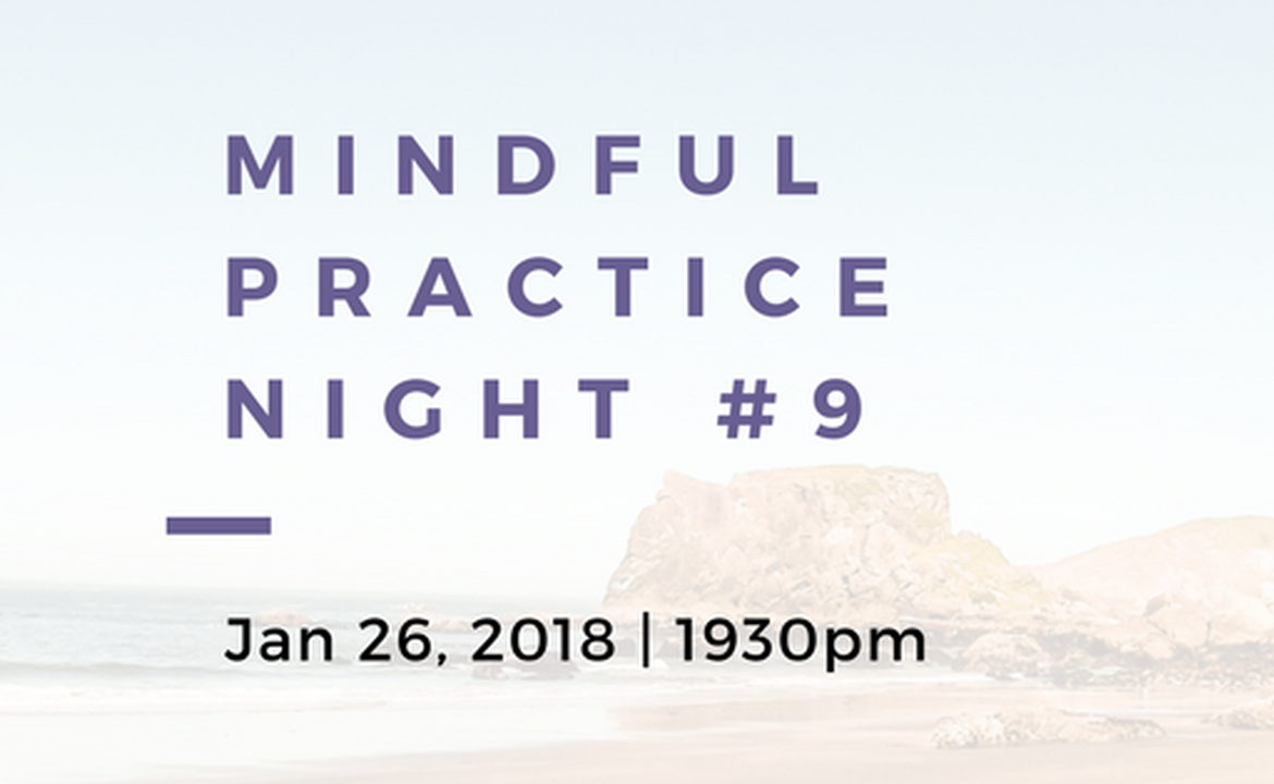 一起靜 X Dream Impact:Mindful Practice Night #9