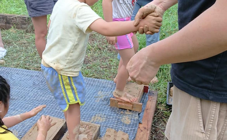 土磚製作 x 回歸自然 親子體驗工作坊