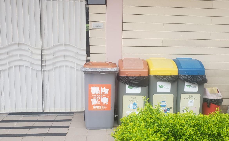 塑膠回收箱-佐敦谷公園