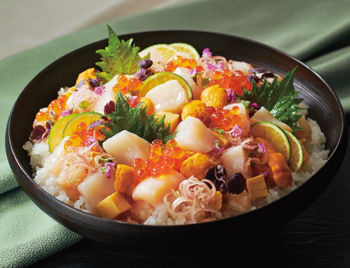 海鮮 ちらし 寿司 盛り付け