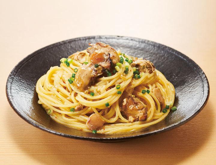 牡蠣 パスタ レシピ