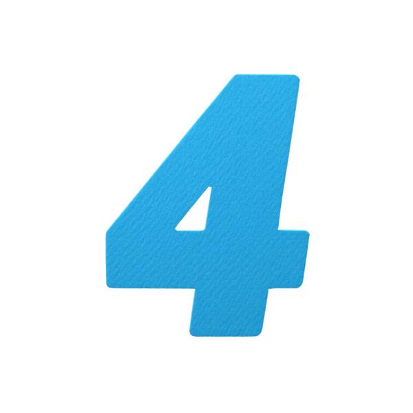 No.394レイヤーPカードDC 数字4
