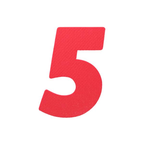 No.394レイヤーPカードDC 数字5