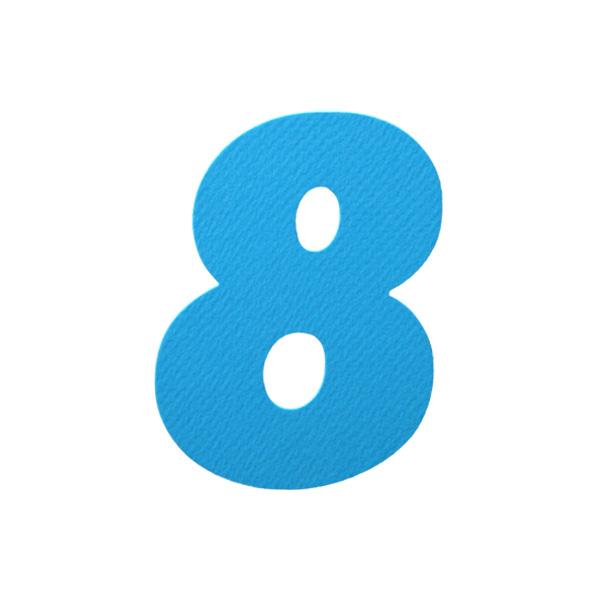 No.394レイヤーPカードDC 数字8