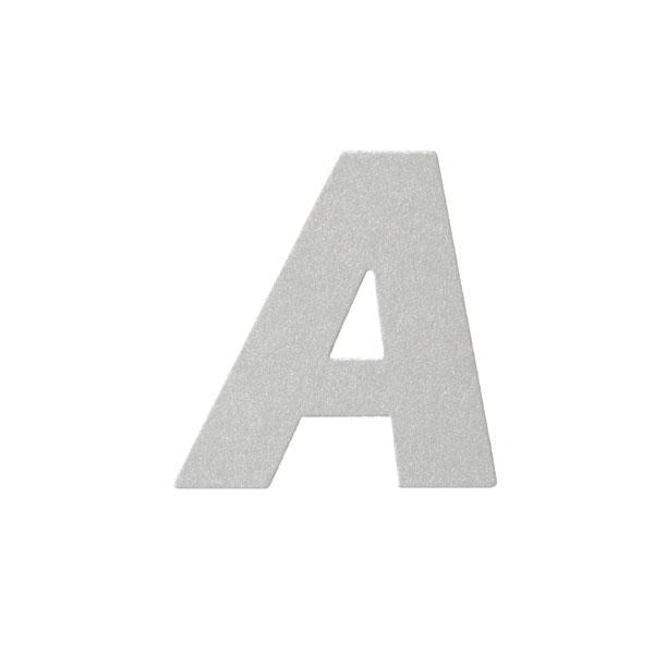 No.395ボードA7カードDC 文字Aシルバー
