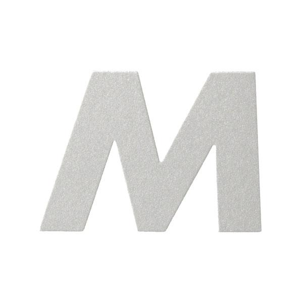 No.395ボードA7カードDC 文字Mシルバー