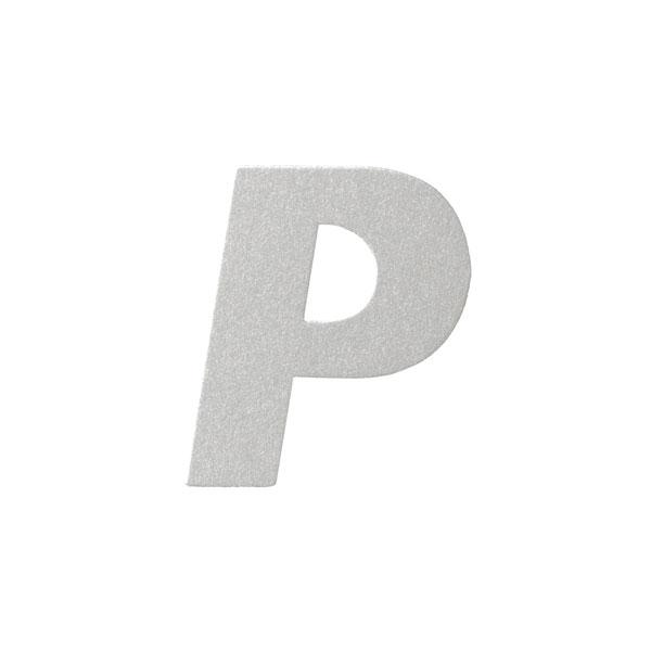 No.395ボードA7カードDC 文字Pシルバー