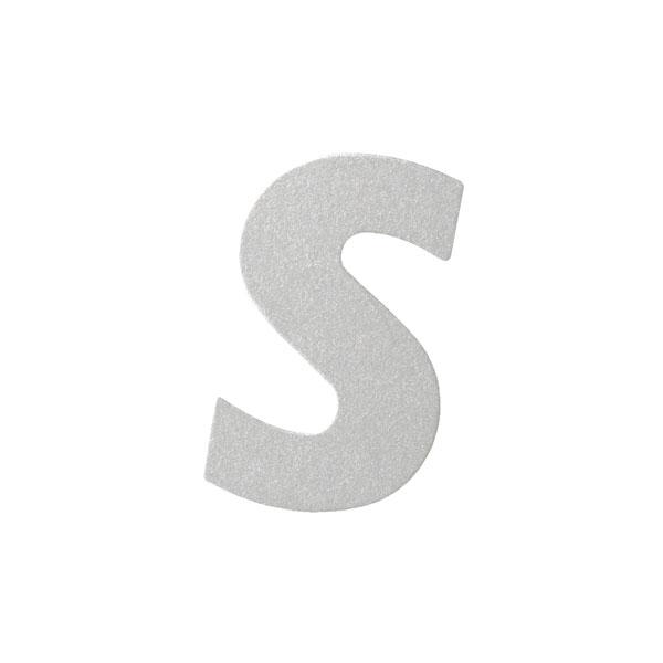 No.395ボードA7カードDC 文字Sシルバー