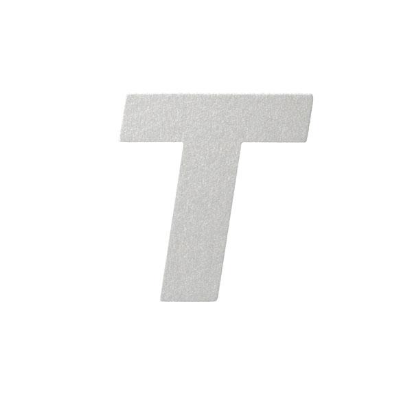 No.395ボードA7カードDC 文字Tシルバー
