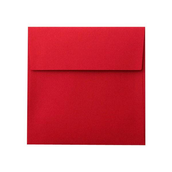SE16カマス封筒 コットン レッド