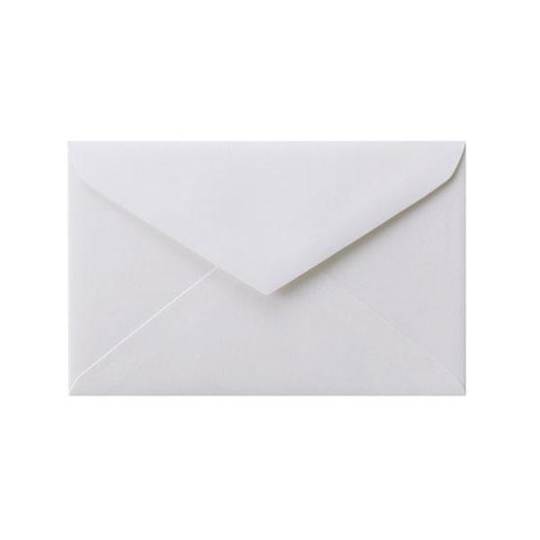 REダイア封筒 コットン スノーホワイト