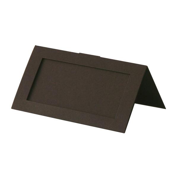 #60ZカードW コットン チョコレート