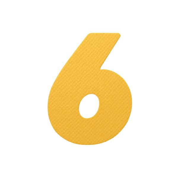 No.394レイヤーPカードDC 数字6