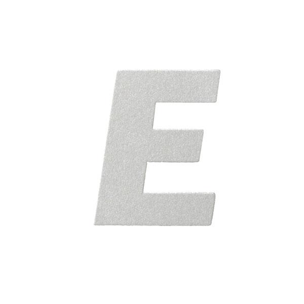 No.395ボードA7カードDC 文字Eシルバー