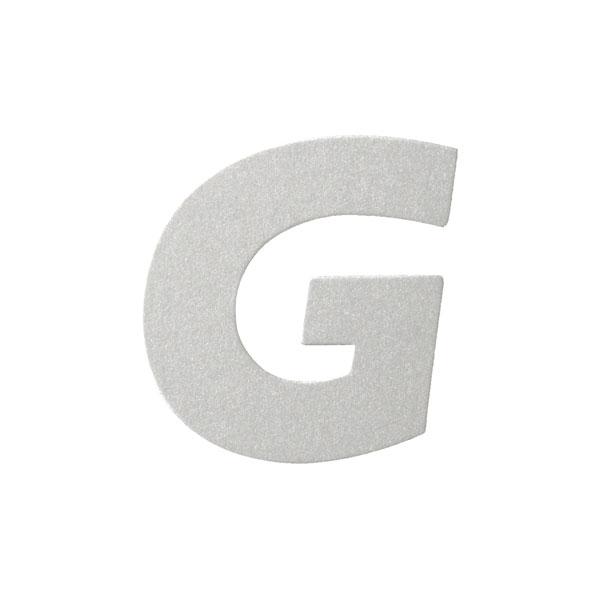 No.395ボードA7カードDC 文字Gシルバー