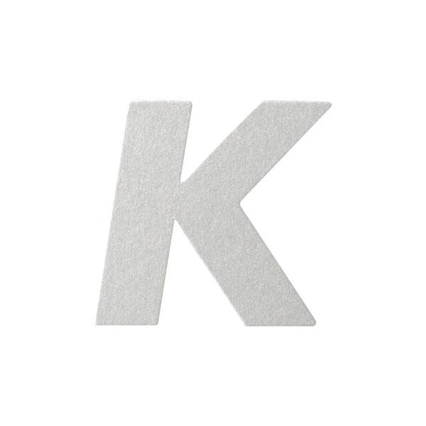 No.395ボードA7カードDC 文字Kシルバー