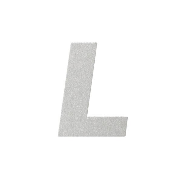 No.395ボードA7カードDC 文字Lシルバー